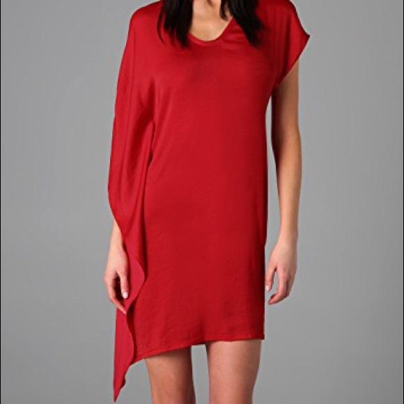 Helmut Lang Dresses & Skirts - Helmet Lang Orbit Asymmetrical Dress
